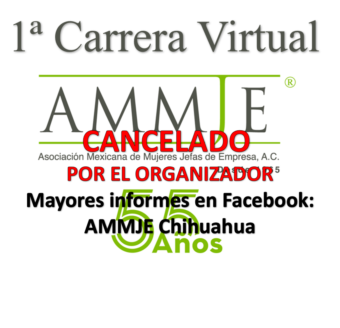 1a CARRERA VIRTUAL AMMJE